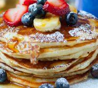 Deliciosos y nutritivos pancakes